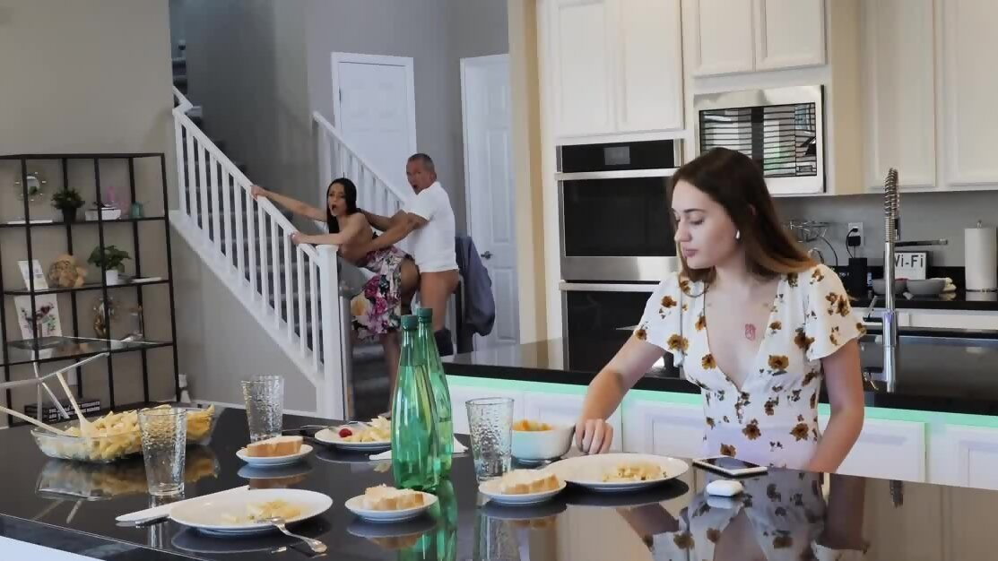 Crystal Rush throws herself at stepdaughter