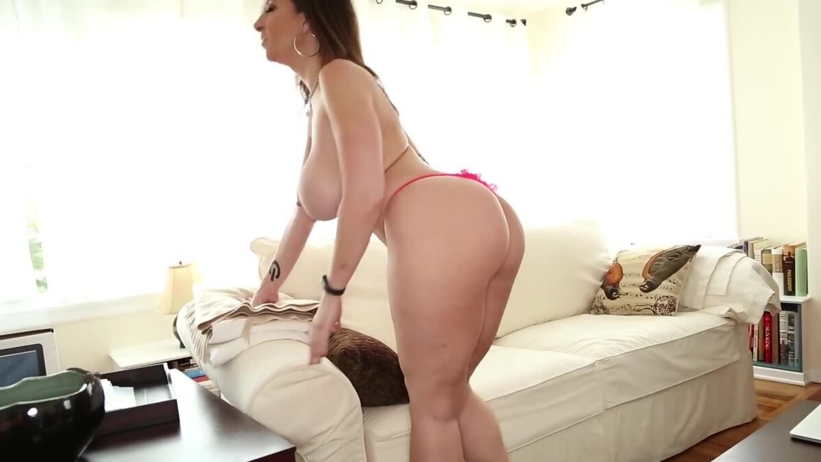 Sara Jay is priest of joy who goes down and jerks stepson...