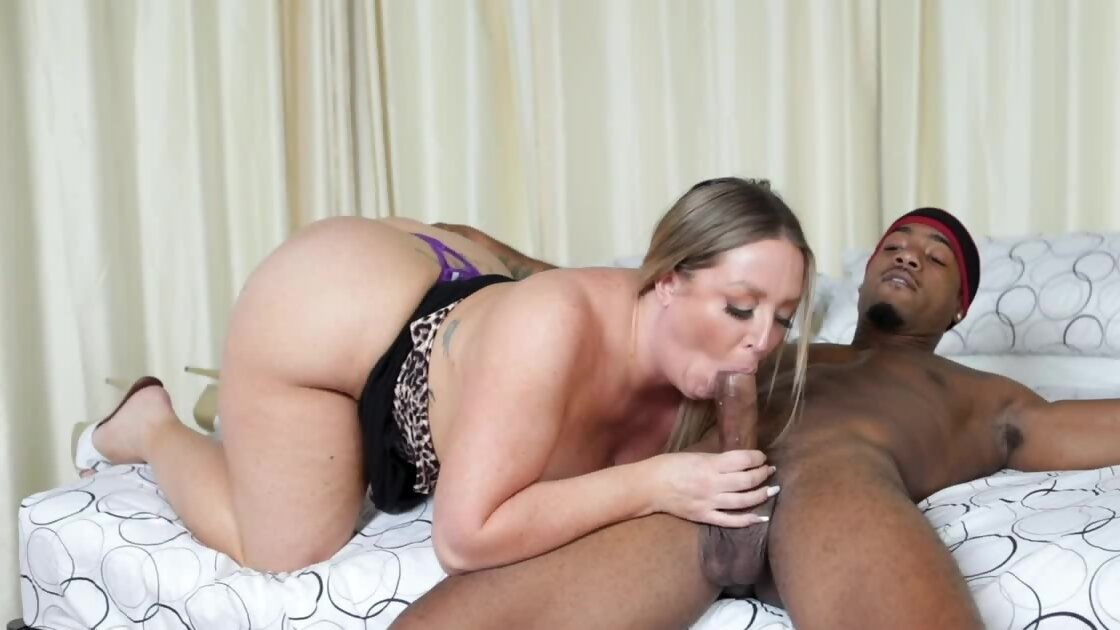 Black coach fucks the blonde and her stepmom with amazing...